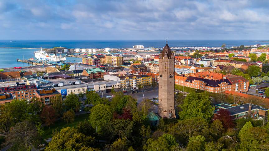 Trelleborg växer stadigt och har nu passerat 46 000 invånare.