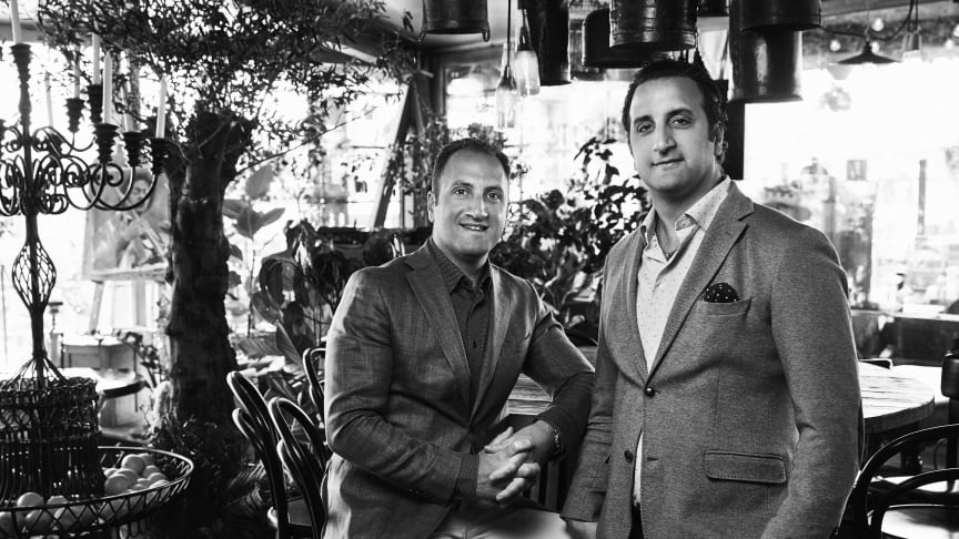 Bröderna Daniel & Filip Guven.