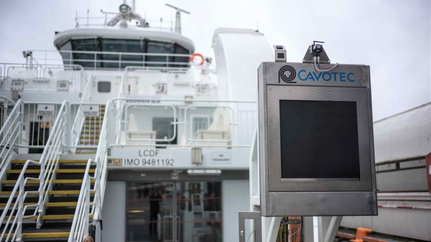 Cavotec APS: safe, effective vessel charging.