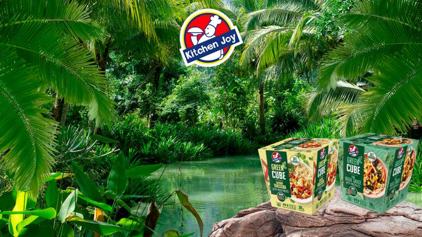 Kitchen Joy Green Cubet vievät sinut makumatkalle Thaimaahan