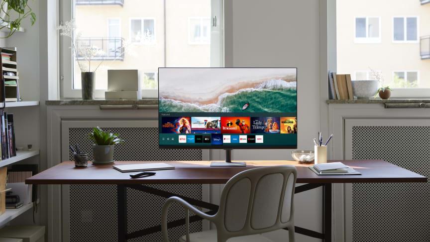Serien har flere skjermstørrelser og design-alternativ, samt nye og utviklede smart-funksjoner.