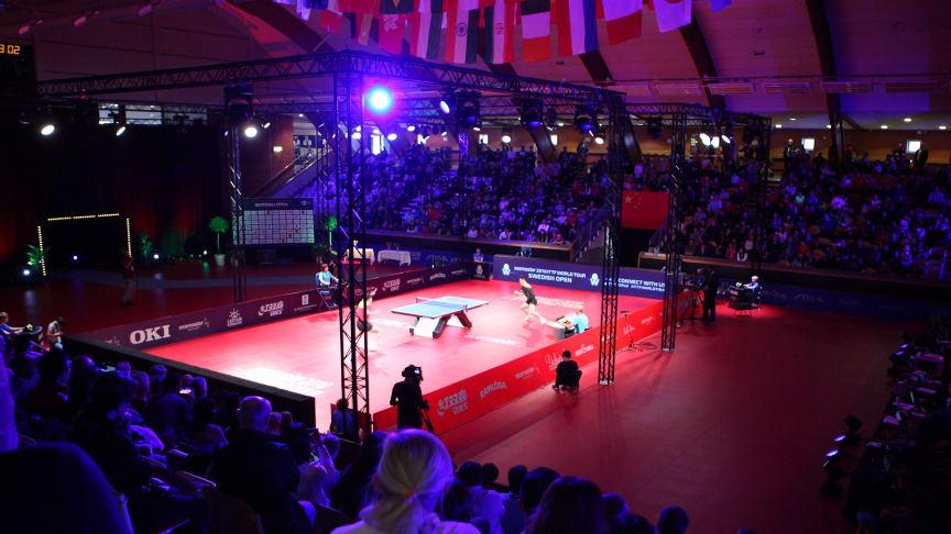 ITTF World Tour Swedish Open 2018. Foto: Irek Kanabrodzki