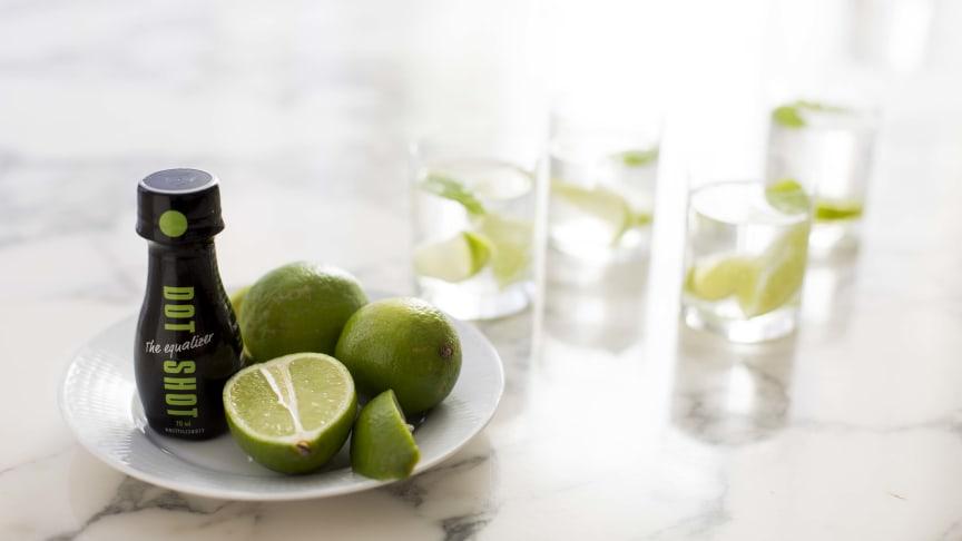 Dot Shot med god smak av lime!