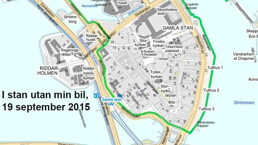 Fler stockholmare ska cykla, gå och åka kollektivt under trafikantvecka
