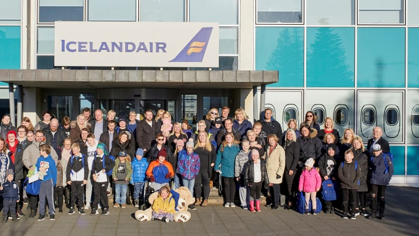 20 families receive a grant from Icelandair's Special Children Travel Fund