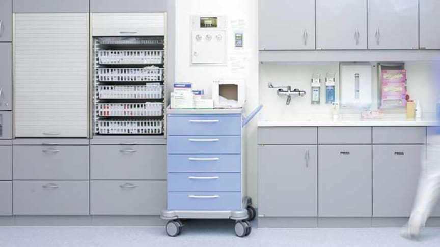 Oras tilbyder SMART armaturer, der er specifikt designet til sundheds- og plejefaciliteter.