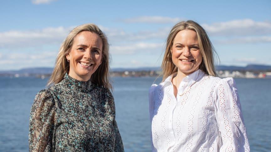 Camilla Beck (til venstre) og Guro Jahre Lund. Foto: Norges sjømatråd