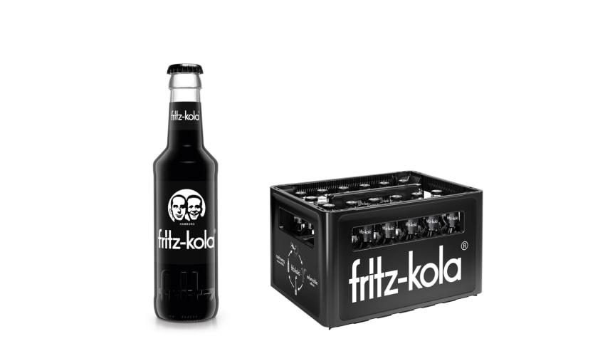 Die neue 0,2l Gastro-Flasche und dazugehöriger Mehrwegkasten für den Gastrobetrieb. © Superunion Germany