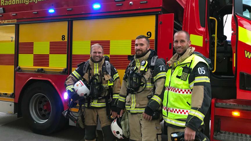 Bli en av oss - bli brandman!
