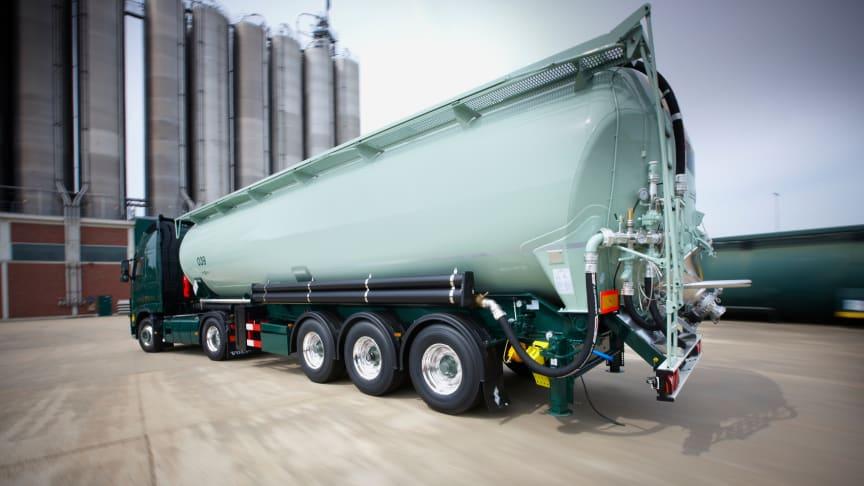 Insbesondere gewichtssensible Transporte profitieren von der Gewichtsersparnis durch die BPW Leichtbaukomponenten.