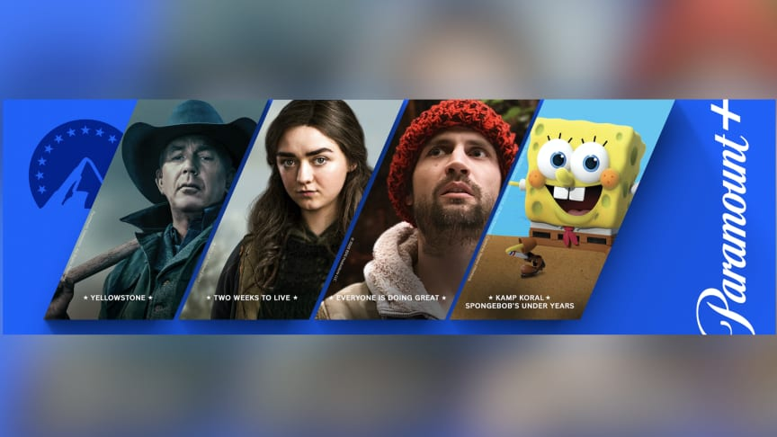 Paramount+ gratis for Telias TV-kunder i hele april