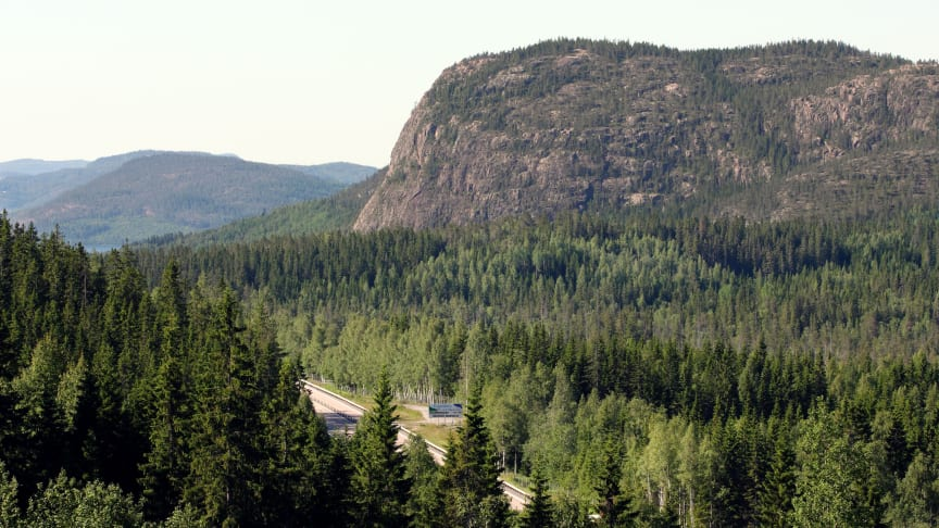 Skuleberget, Kramfors kommun – mitt i Höga Kusten.