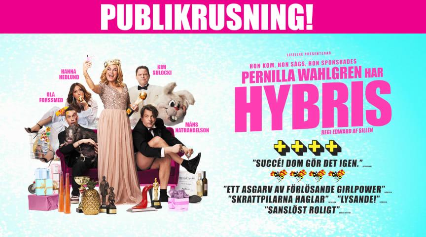 """Succé för Pernilla Wahlgren! Nu släpps extra föreställningar av kritikerrosade """"Pernilla Wahlgren har Hybris""""!"""