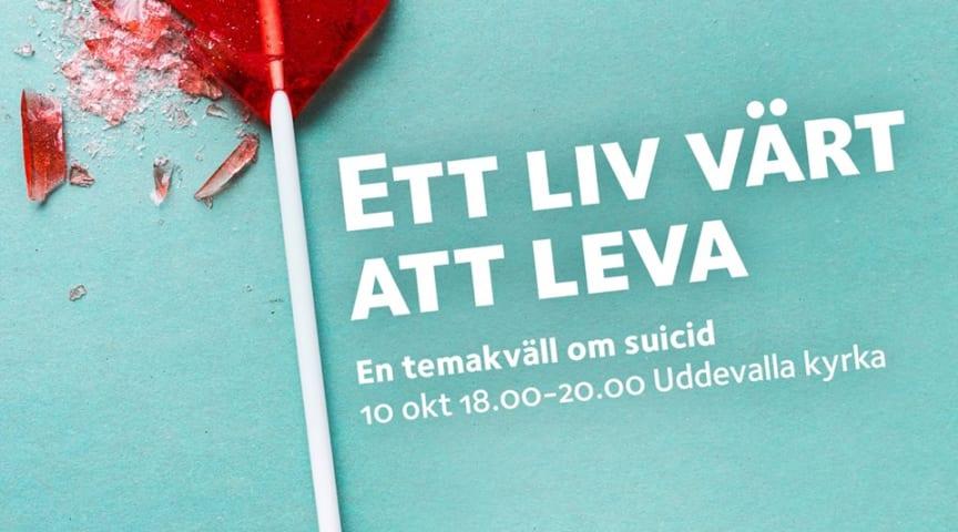 Temakväll och studiecirklar om suicid