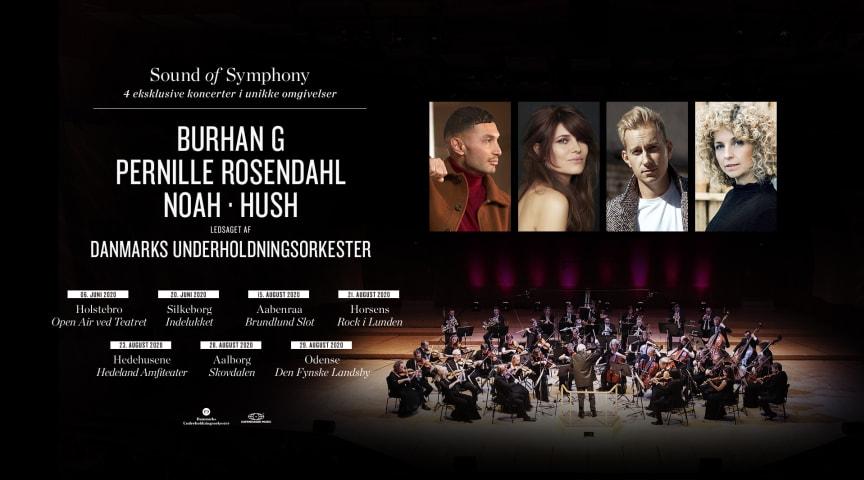 Sound of Symphony: Stjernespækket artist-line-up i symfonisk forvandling