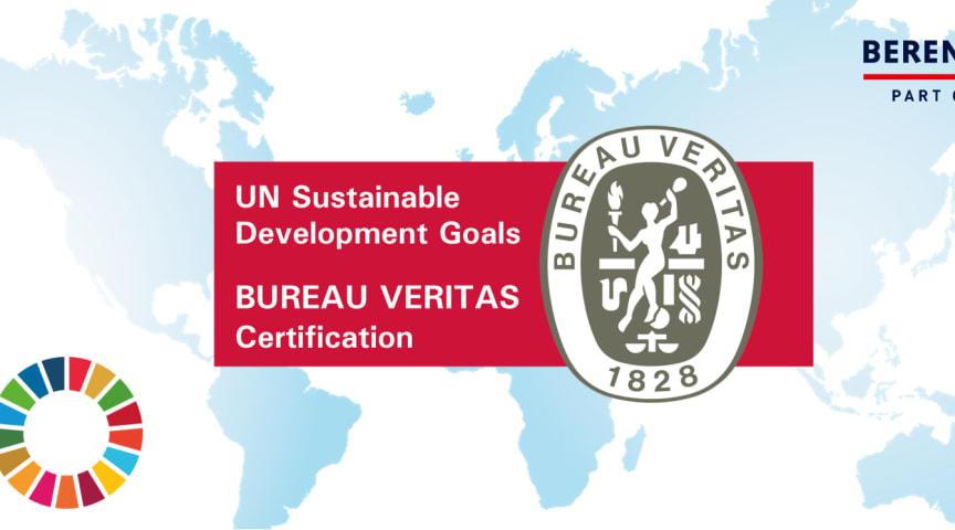 Nu kan virksomheder blive verdensmålcertificerede – og Berendsen har opnået certifikatet som de første