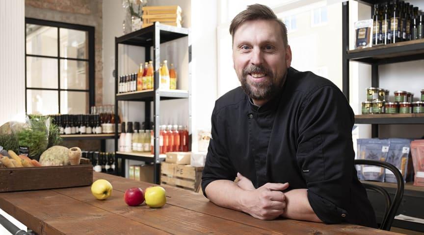 Björn Eriksson på Den lokala maten Strängnäs