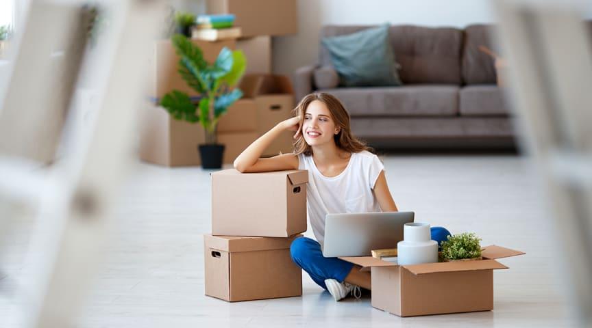 Studenter som flyttar till PIteå för att studera garanteras bostad.   Foto: Getty Images