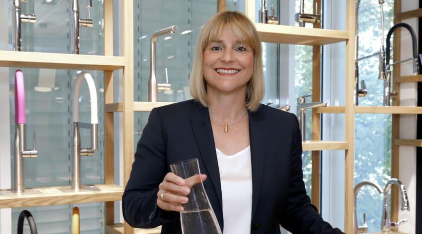 Senior Vice President for Vandsystemer, Filter og Køkken EMENA Andrea Bußmann