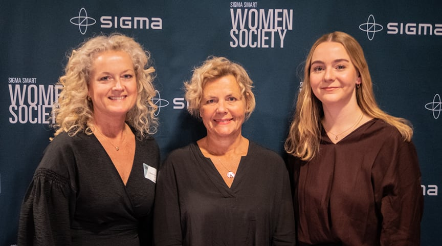 På Sigmas nätverksträff i Göteborg medverkade från vänster: Beatrice Silow, kommunikations- och kulturchef på Sigma IT; Anna Serner, VD på Svenska Filminstitutet; Greta Braun, projektledare på Production for Future.