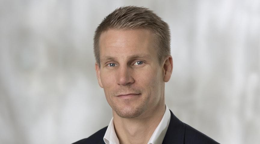 David Larsson, VD på Nokas Security.