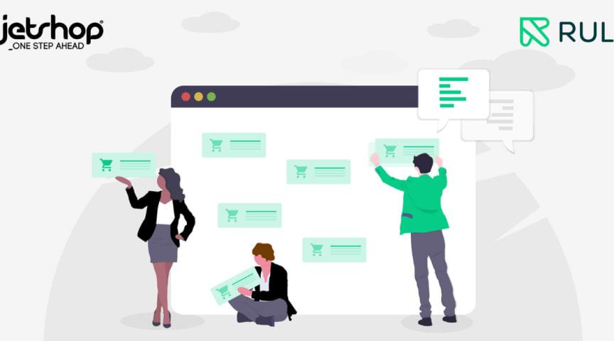 Jetshop i samarbete med Rule för digital tillväxt med hyper-personalisering