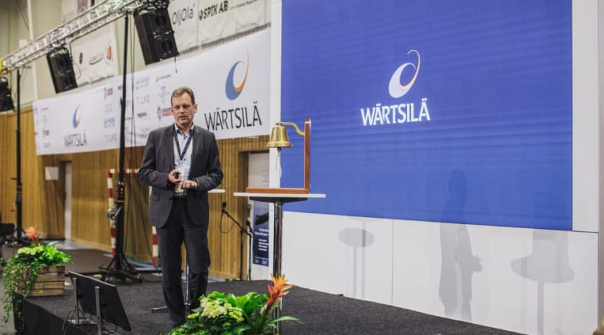 Towards a zero-emission smart marine ecosystem, Roger Holm, President of Marine Business, Executive Vice President and member of the Board of Management, Wärtsilä Corporation.