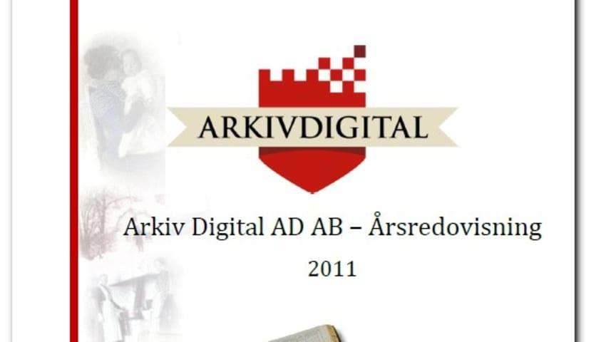 Bokslutskommuniké ArkivDigital räkenskapsåret 2011
