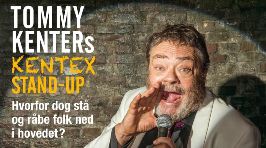 Tommy Kenter byder på Kentex Stand-up i Sceneriet under Det Ny Teater