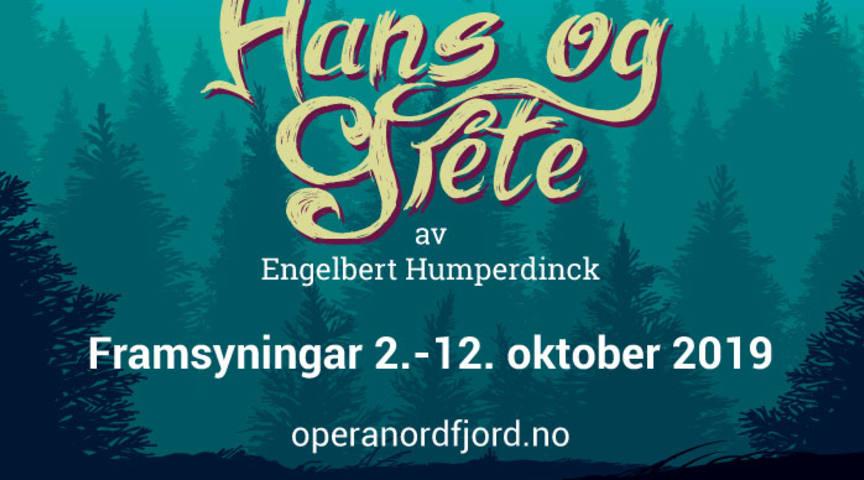 Nyhendebrev: Billettsalet startar for Hans og Grete