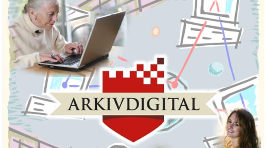 Nya ArkivDigital online – Prova släktforska gratis