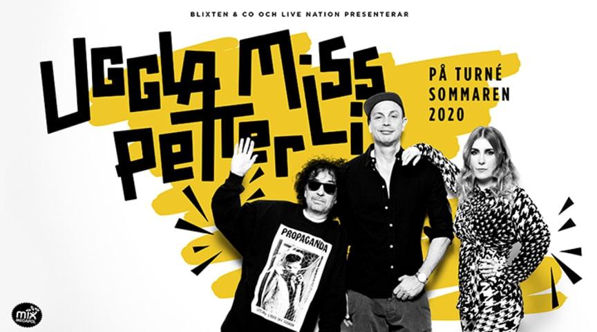Magnus Uggla, Miss Li och Petter på turné sommar - premiär 2 juli