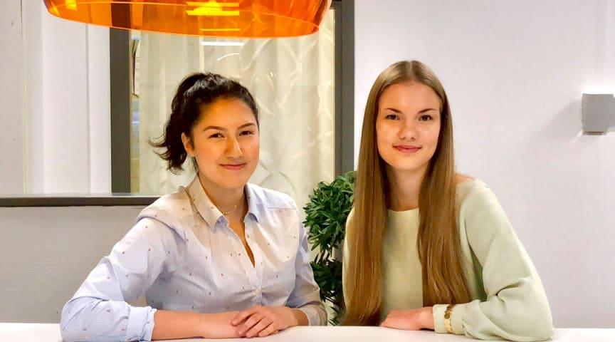Ruzanna Khachatryan och Evelina Ek
