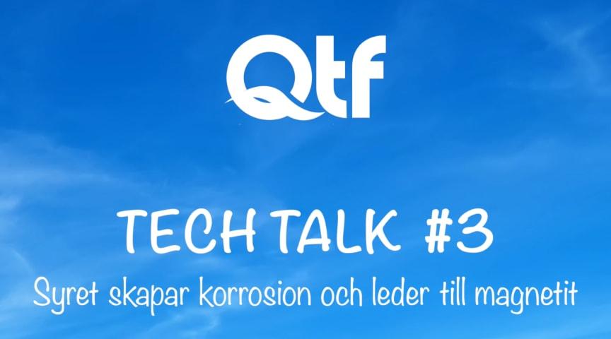 I QTF Tech Talk Nr 3 visar Björn hur magnetit påverkar pumpars rotorer