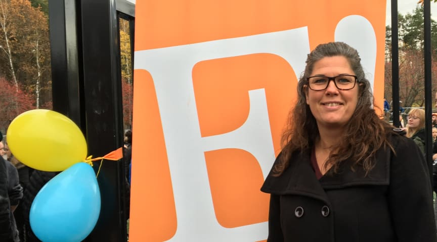 Maria Asplund, rektor på Erlaskolan Södra i Norrköping
