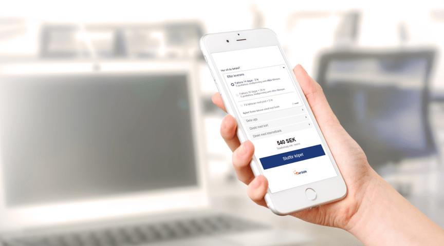 Nu kan kunder betala i efterhand med Swish