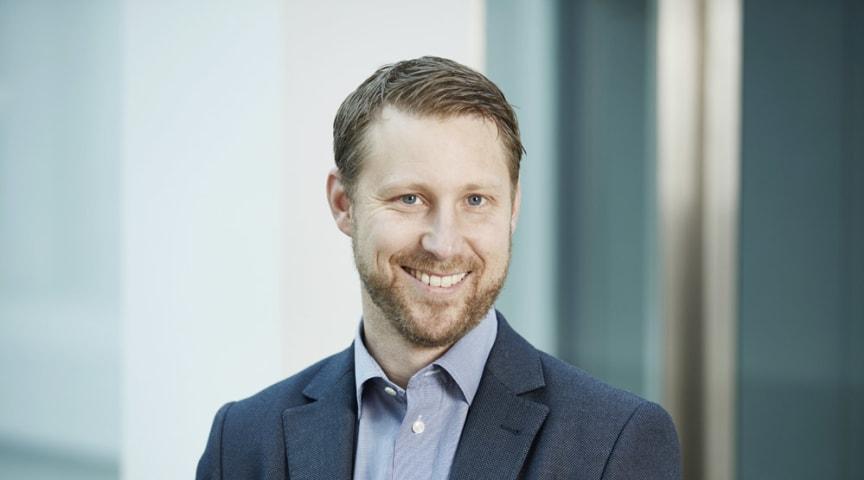 Andreas Bengtsson, ny försäljnings- och marknadschef på LK Armatur