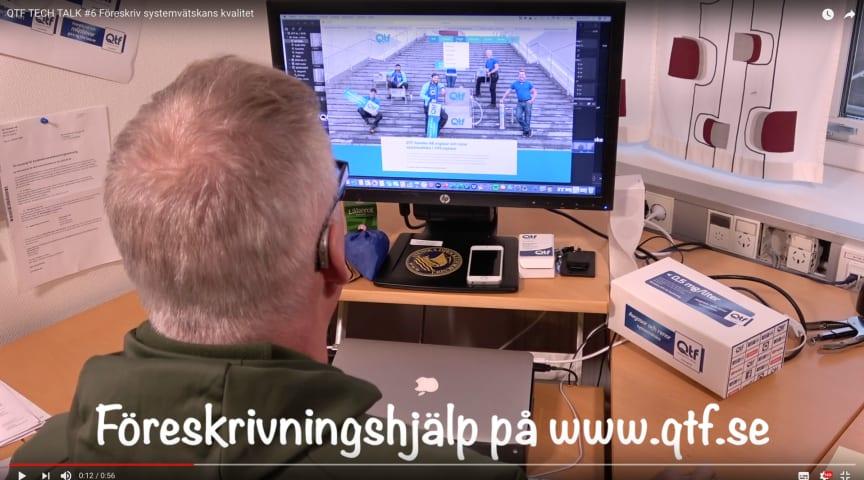 I den här videon berättar Björn varför det är viktigt att föreskriva kvalitet på systemvätska redan från början. Beskrivningstexter till AMA-koder finns på www.qtf.se.