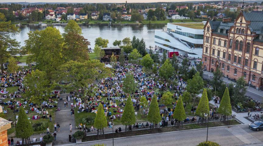 Under 2019 hade Umeå fler besökare än någonsin tidigare. Foto Fredrik Larsson.