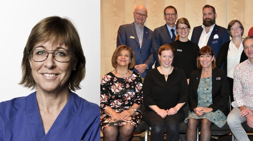 Karin Båtelson omvald till ordförande för Sjukhusläkarna
