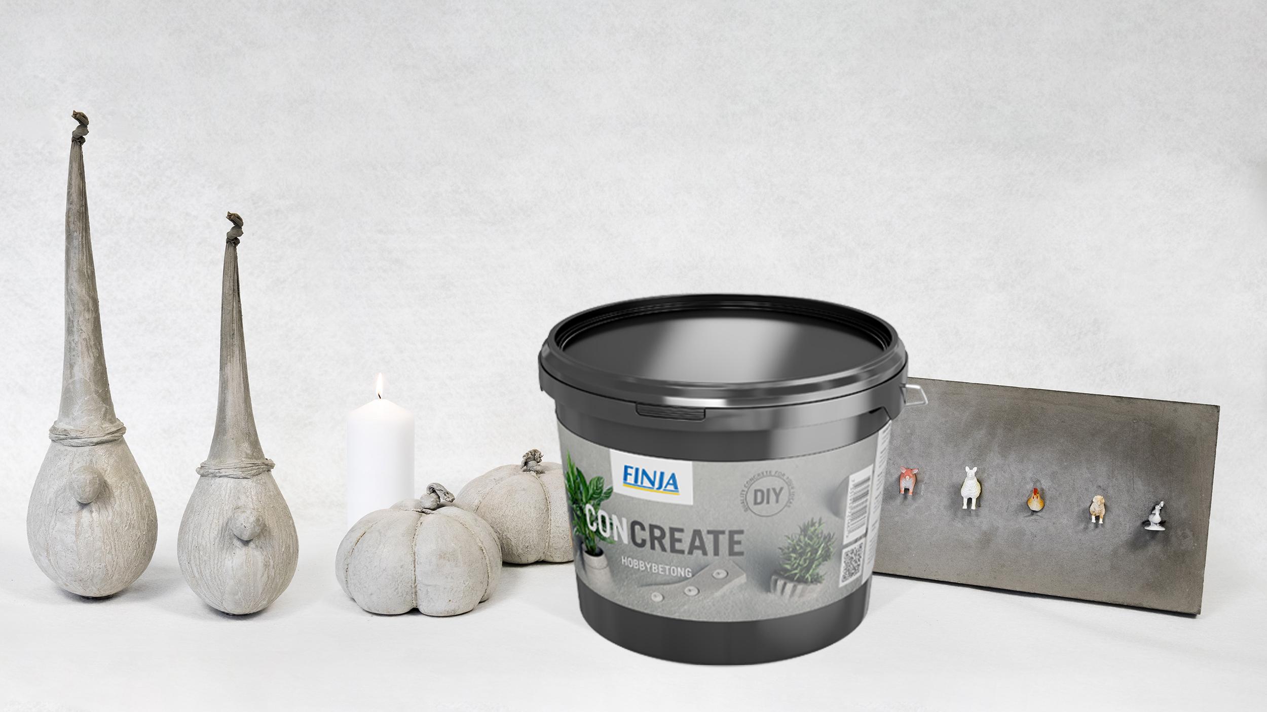 Concreate - ny hobbybetong fra Finja