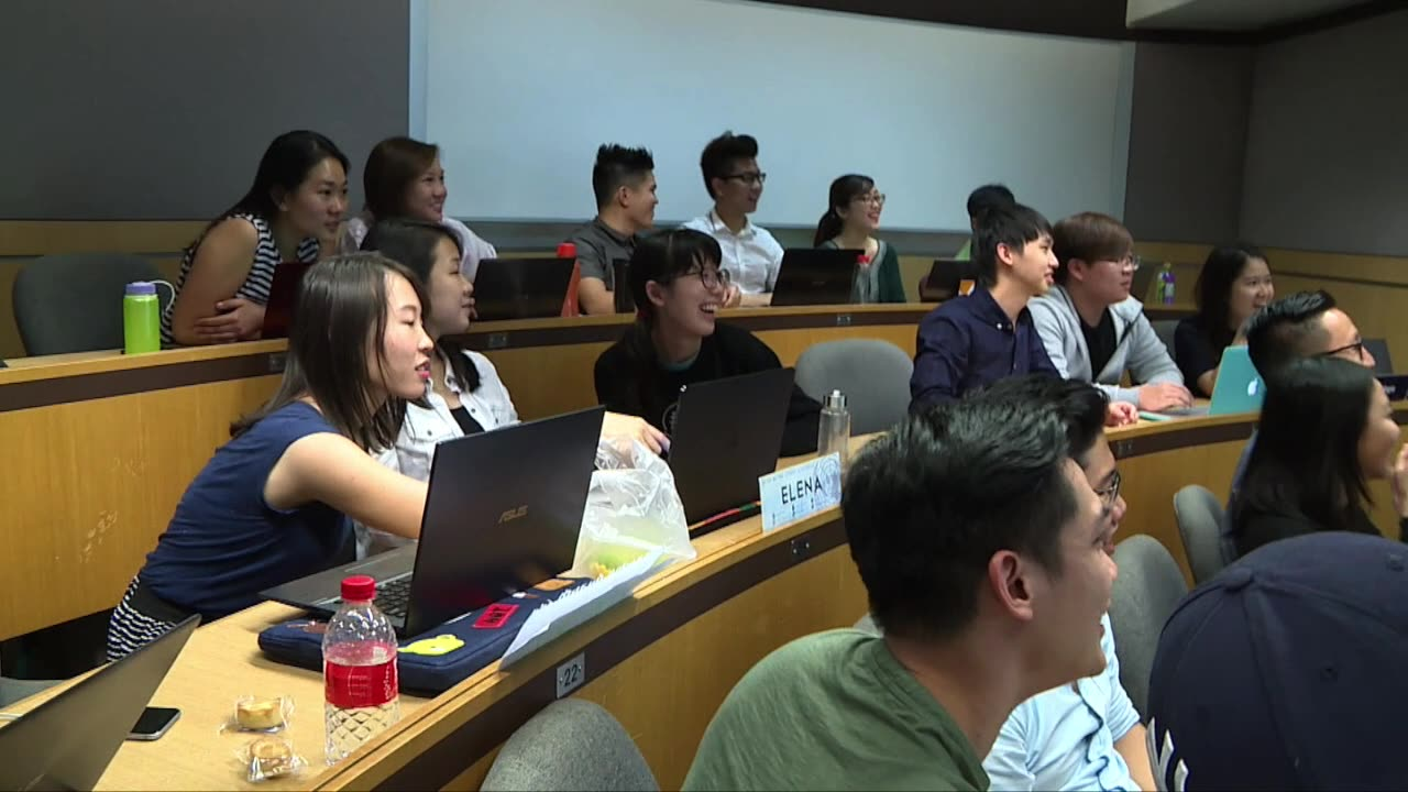 """B-Roll of """"Singapore: Imagining the Next 50 Years"""" at SMU"""