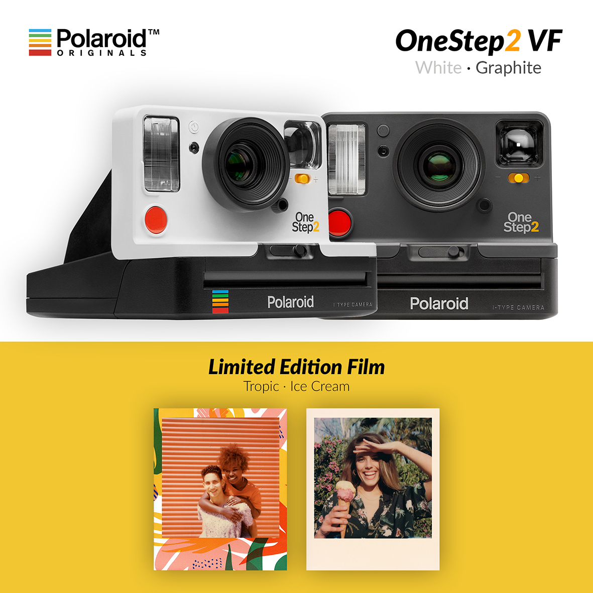 Naujienos iš Polaroid Originals!