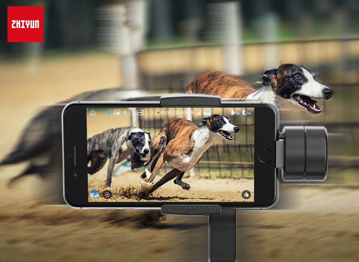 Stabils mobilais video katrā kadrā!
