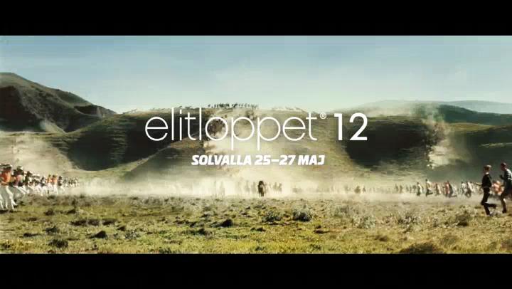 Reklamfilm för Elitloppet 2012