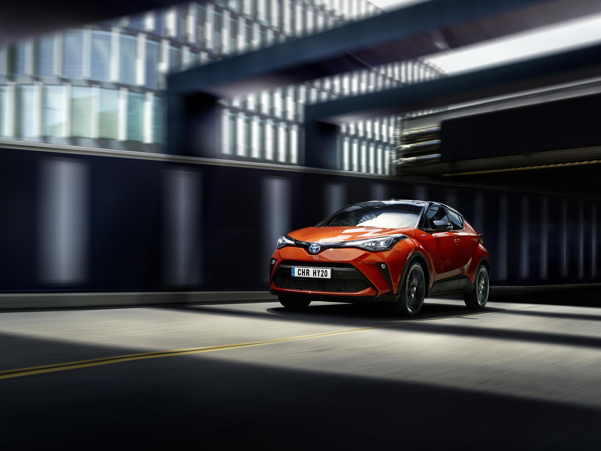 Her er prisene på nye Toyota C-HR