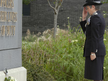 Commissioner leads the Met's Annual Remembrance Ceremony at Hendon