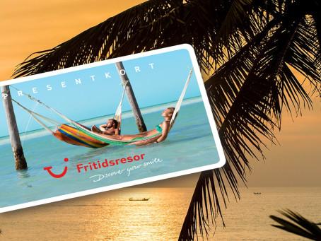 TUI Nordic sends e-gift cards