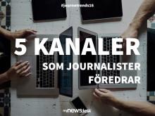 5 kommunikationskanaler som journalister föredrar