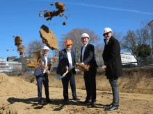 Baustart für Wohn- und Gewerbequartier an der Welfenstraße in Wiesbaden